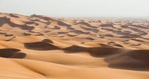 De duinenwoestijn van Doubai Stock Fotografie