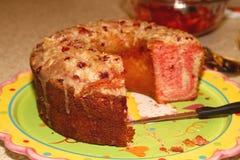 De Duitse Cake van de Chocoladeverjaardag. Stock Afbeeldingen