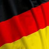 De Duitse Close-up van de Vlag Stock Afbeelding