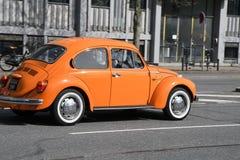DE DUITSE KLASSIEKE AUTO VAN VW Royalty-vrije Stock Afbeelding