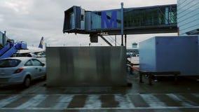 De Duitse luchthaven van Luchthavenmünchen stock videobeelden