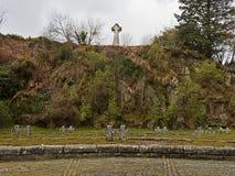 de Duitse militaire begraafplaats in Glencree, Wicklow, Ierland royalty-vrije stock afbeelding