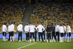 De Duitse nationale spelers van het voetbalteam royalty-vrije stock afbeeldingen