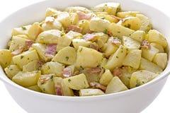 De Duitse Salade van de Aardappel Stock Afbeelding