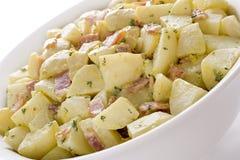 De Duitse Salade van de Aardappel Royalty-vrije Stock Afbeelding