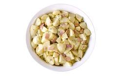 De Duitse Salade van de Aardappel Royalty-vrije Stock Foto's
