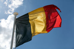 De Duitse vlag. Stock Fotografie