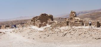 De Duiventiltorens in Masada in Israël stock foto's