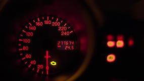 De duizend reizen van mijn auto Royalty-vrije Stock Foto's