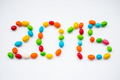 2015 de dulces Imagen de archivo