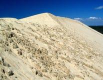 de dune法国pyla 库存照片