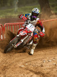 24 DE DUURZAAMHEIDSras VAN DE URENmotocross Stock Afbeelding