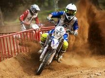 24 DE DUURZAAMHEIDSras VAN DE URENmotocross Stock Fotografie