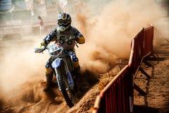 24 DE DUURZAAMHEIDSras VAN DE URENmotocross Stock Foto's