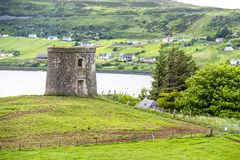 De dwaasheid van kapiteinsfrasers in Uig, Eiland van Skye - Schotland royalty-vrije stock afbeelding
