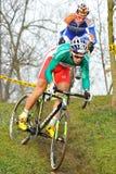 De dwars fietser Marco Fontana van het Land Royalty-vrije Stock Foto's