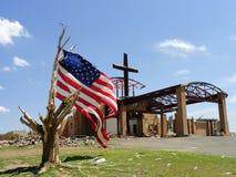 De dwarsTriomfen over Joplin Stock Fotografie