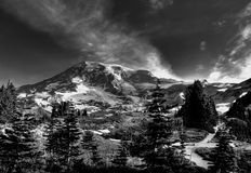 De DwarsWeg van het Uitzicht van Alta Royalty-vrije Stock Foto's