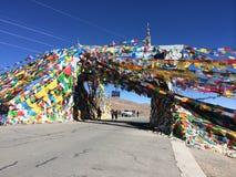 De echte kleuren van Himalayagebergte Royalty-vrije Stock Fotografie