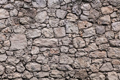 De echte textuur van de steenmuur Royalty-vrije Stock Foto's