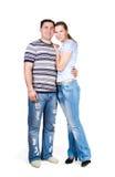 De echtgenoot en de vrouw stock foto
