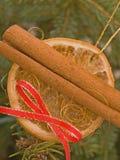 De ecologische decoratie van Kerstmis Stock Foto's