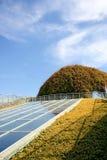 De ecologische moderne bouw. Royalty-vrije Stock Foto's