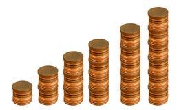 De economie groeit Stock Afbeeldingen