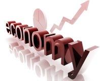 De economie van financiën het verbeteren stock illustratie