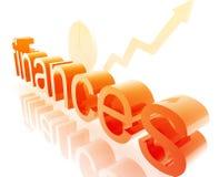 De economie van financiën het verbeteren vector illustratie