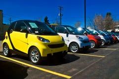 De economische Auto's van de Besparing van het Gas Stock Foto