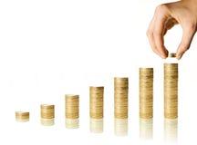 De economische groei Royalty-vrije Stock Afbeeldingen