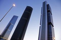 De Economische sector van Torres van Cuatro Royalty-vrije Stock Afbeelding