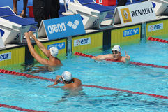 de edf natation 2010 öppna paris Fotografering för Bildbyråer