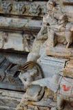 De eekhoorn in Jagdish Temple Royalty-vrije Stock Foto's