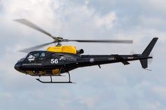 De Eekhoornht van Royal Air Force RAF Eurocopter zoals-350BB 1 helikopter ZJ256 van de Vliegende School van de Defensiehelikopter stock afbeelding