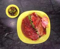 De eend van Peking Stock Foto