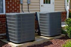 De Eenheden van de airconditioning Stock Afbeeldingen