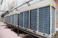De Eenheid van de Airconditioner stock afbeelding