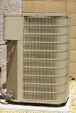 De Eenheid van de Airconditioner stock afbeeldingen
