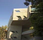 De eenheid van de drie afmetingen in de architectuur van het bouwinstituut van Politiek royalty-vrije stock foto's