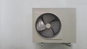 De eenheid van de luchtvoorwaarde op muur stock afbeelding