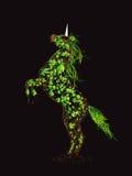 De eenhoorn van Fairytale Stock Afbeeldingen