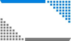 De eenvoudige achtergrond van pixelkubussen Royalty-vrije Stock Fotografie