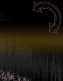 De eenvoudige Donkere Abstracte Achtergrond van Glittery Grunge Stock Afbeeldingen