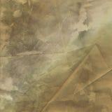 De eenvoudige Grunge-Versleten Achtergrond kijkt Bruine Gevouwen Geweven Royalty-vrije Stock Fotografie