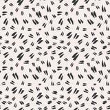 De eenvoudige hand-drawn inktkrabbels, naadloos patroon, vatten geometrische achtergrond samen Het eenvoudige ontwerp van de de s royalty-vrije illustratie
