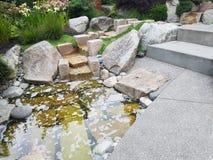 De Eenvoudige Moderne Tuin van Seattle stock foto's