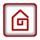 Het pictogram van het huis Royalty-vrije Stock Afbeeldingen