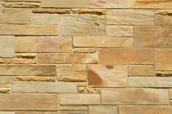 De eenvoudige ruimte van het de textuurexemplaar van de steenmuur voor achtergrond Stock Afbeelding